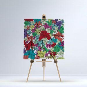 la Magie dans l'Image - toile fleurs - Digital Wall Coverings