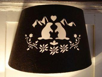 au petit coeur d'amour - marmotte - Wall Lamp