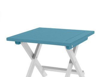 City Green - table d'appoint pliante burano - 45 x 45 x 38 cm  - Folding Garden Table