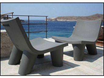 Slide - fauteuil slide low lita - Garden Armchair