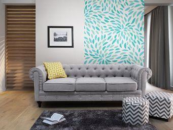 BELIANI - chesterfield - 3 Seater Sofa