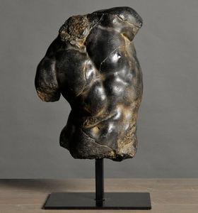 ATELIERS C & S DAVOY - torse apollon - Bust Sculpture