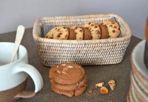 ROTIN ET OSIER - pocket rectangulaire - Bread Basket