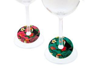 KOALA INTERNATIONAL - toucans - Wine Glass Marker