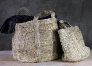 ROTIN ET OSIER - braided hemp - Beach Bag
