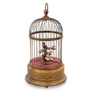 Reuge -  - Singing Bird Music Box
