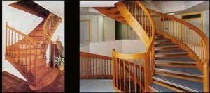 Kensington Spirals -  - Quarter Turn Staircase