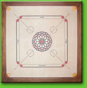 Carrom Art -  - Parlour Games