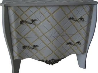 Luc Perron - commode 3d carreau - Chest Of Drawers