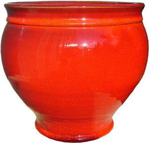 AMBIANCES & MATIERES DIFFUSION - vase pivoine 20 rouge - Garden Pot