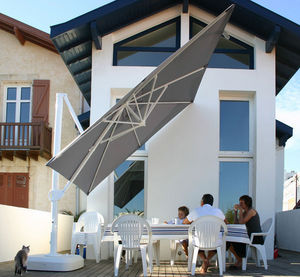ABRITEZ VOUS CHEZ NOUS - décor d'ombre® - Offset Umbrella