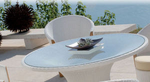 MAZUVO -  - Round Garden Table