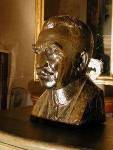 Au Réveil du Temps -  - Bust Sculpture