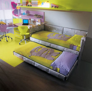 Cia International -  - Bed With Drawers