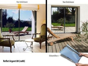 Variance store - reflet argent 80 - Privacy Adhesive Film