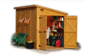 CABANES GREEN HOUSE -  - Wood Garden Shed