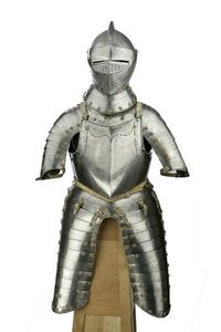 Peter Finer - a good north german field armour, brunswick, circa - Armour