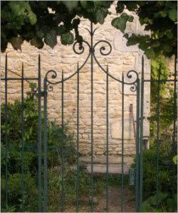 La Forge  de La Maison Dieu -  - Garden Gate