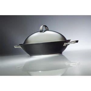 Wesco - wok circulon noir anthracite 36cm - Wok
