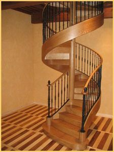 ESCALIERS GRANDJEAN -  - Spiral Staircase