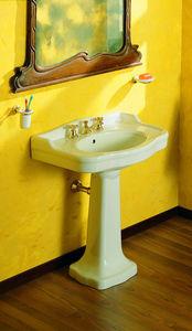 BLEU PROVENCE - 870+815 - Pedestal Washbasin