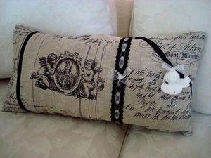 Déco à Coeur -  - Rectangular Cushion
