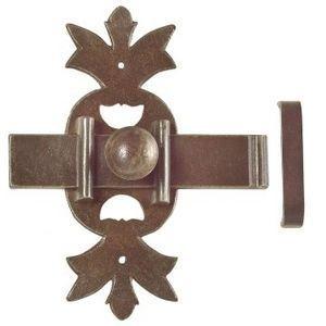 Flat door bolt