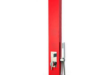 Miliboo - trendy colonne douche rouge - Shower Column