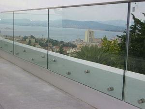 TRESCALINI - glassy : garde-corps verre - Stair Railing