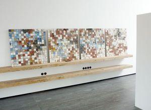 PIXELS DE MER -  - Decorative Panel