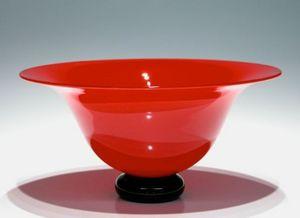 CARLSON ART GLASS -  - Salad Bowl
