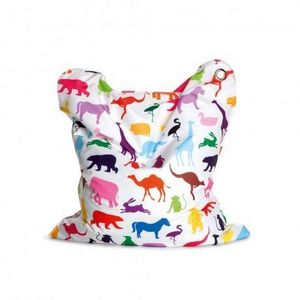 SITTING BULL - sitting bull - pouf fashion mini bull happy zoo - - Children's Ottoman