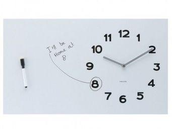 Karlsson Clocks - karlsson - horloge white board - karlsson - blanc - Kitchen Clock