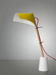 Pierre Deltombe - windy landscape - Desk Lamp