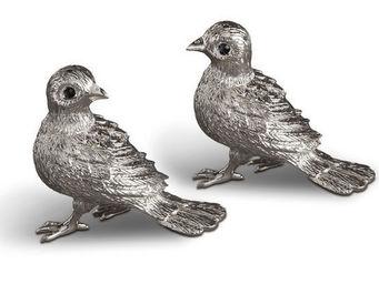 L'OBJET - bird spice jewels - Saltcellar And Pepperpot