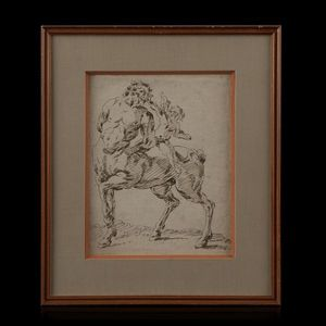 Expertissim - ecole venitienne du xviiie siècle - Ink Drawing