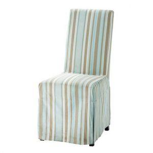 MAISONS DU MONDE - housse bayadère margaux - Loose Chair Cover