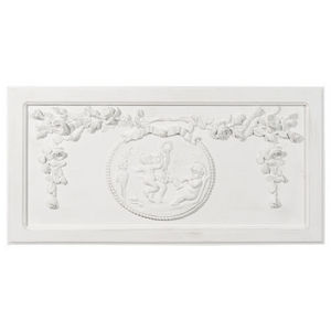 Maisons du monde - fronton angelo blanc - Wall Decoration