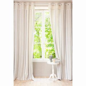 Maisons du monde - rideau aristide - Eyelet Curtain