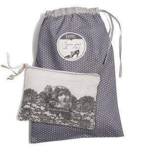 MAISONS DU MONDE - ensemble de 2 pochettes voyage femme - Drawstring Bag