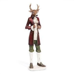 Maisons du monde - statuette cerf mégève - Figurine