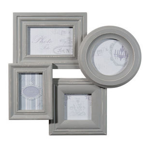 Maisons du monde - cadre 4 vues anaelle gris - Photo Frame