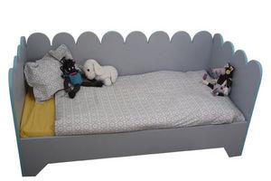 Mie Trampoline - lit fleur - Children's Bed