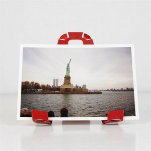 Fenel & Arno - porte photo a-3-pat rouge - Picture Holder