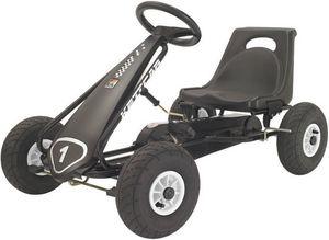 Kettler - kart noir à pédales suzuka air 100x61x64cm - Pedal Car