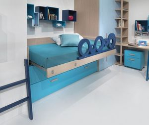 DEARKIDS -  - Children's Bed With Drawers