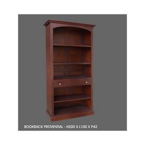 DECO PRIVE - bibliotheque en acajou modele provencale - Open Bookcase
