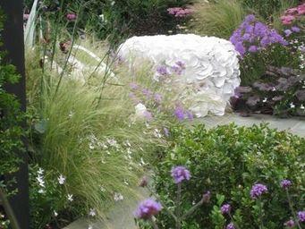 13 RiCrea -  - Garden Ottoman