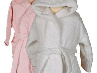 SIRETEX - SENSEI - peignoir enfant en forme de souris rose - Children's Dressing Gown