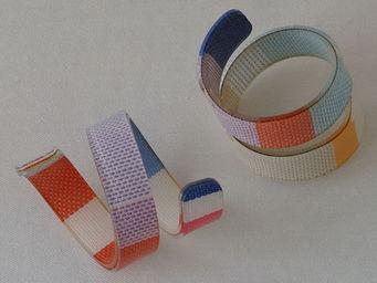 Les Toiles Du Soleil - rond de serviette canet en roussillon - Napkin Ring